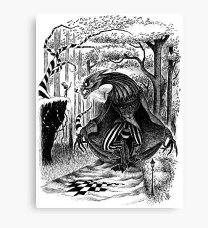 The Jabberwocky Canvas Print
