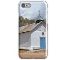 Sangre de Cristo Chapel in Cuartelez iPhone Case/Skin