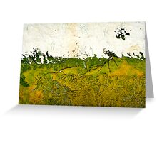 Yorkshire Wolds Greeting Card