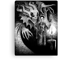 The Manifestation of Thomas Carnacki Canvas Print