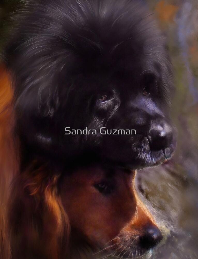Big Soul (detail) by Sandra Guzman