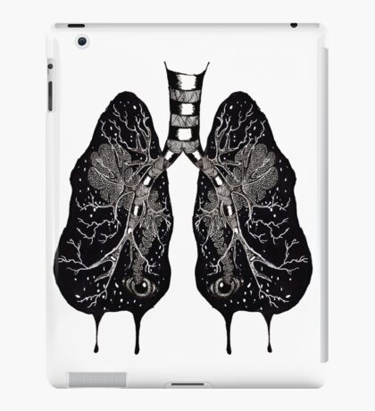 Ink Lungs iPad Case/Skin
