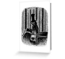 Dracula's Caleche Greeting Card