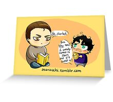 CHIBIBATCH - Baby Hedgehog Greeting Card
