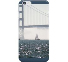 Sails Against the Fog iPhone Case/Skin