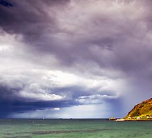 Ballygalley Storm by Stephen Maxwell