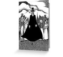 The Minister's Black Veil Greeting Card