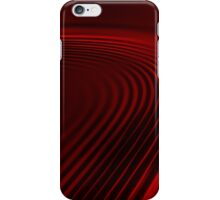 Red Satin iPhone Case/Skin