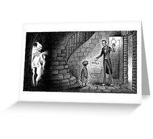 Cellar Ghost Greeting Card