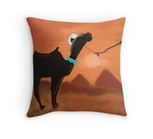 Ready For the Sand Dance Throw Pillow