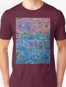 Cartoon Wall Unisex T-Shirt