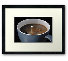 Coffee, anyone? Framed Print