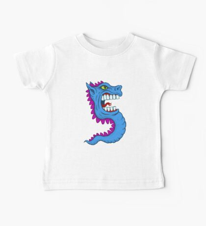 Sea Dragon Horse Monster Thing 5 Baby Tee