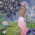 Among The Flowers V by Barbara A. Boal