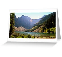 Lake Agnes II Greeting Card