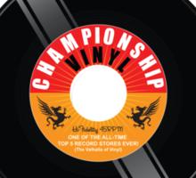 Championship VInyl Sticker