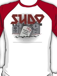 SUDO - Heavy Metal Sysadmin T-Shirt