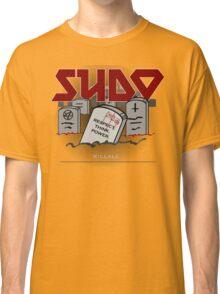 SUDO - Heavy Metal Sysadmin Classic T-Shirt