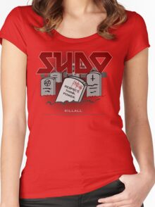 SUDO - Heavy Metal Sysadmin Women's Fitted Scoop T-Shirt