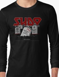 SUDO - Heavy Metal Sysadmin Long Sleeve T-Shirt
