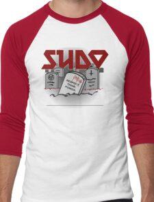 SUDO - Heavy Metal Sysadmin Men's Baseball ¾ T-Shirt