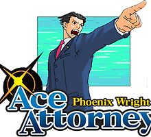 Phoenix Wright - Ace Attorney by MarbleCake23