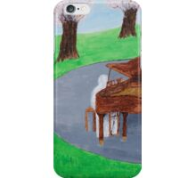 The Mystery Pianist iPhone Case/Skin