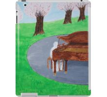 The Mystery Pianist iPad Case/Skin