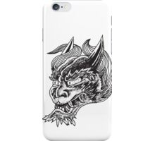 Japanese Oni Head iPhone Case/Skin