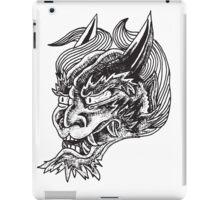 Japanese Oni Head iPad Case/Skin