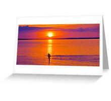 Bathers in the Sun Greeting Card