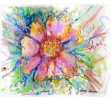 Flower In Bloom Poster