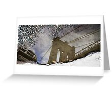 Reflections of New York Greeting Card