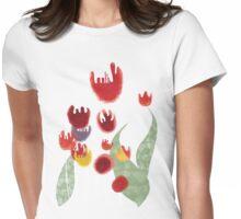 Tulips garden flora surf tropic island paradise pullover sweatshirt Womens Fitted T-Shirt