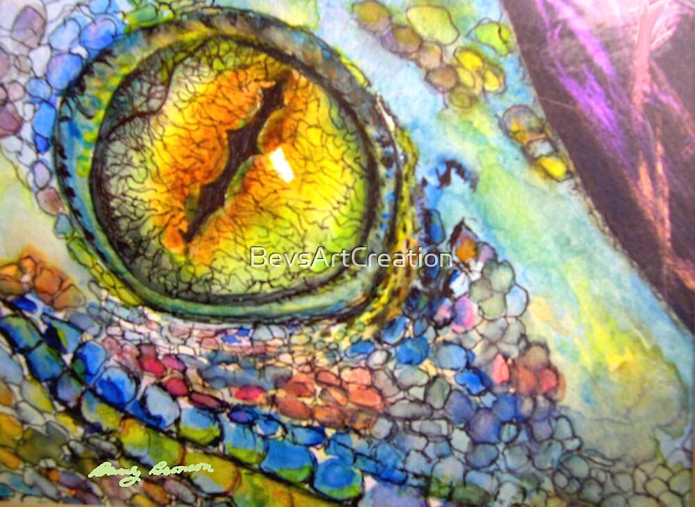 iguana eye painting - photo #17