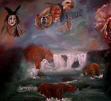 SPIRIT GUIDES  by LJonesGalleries