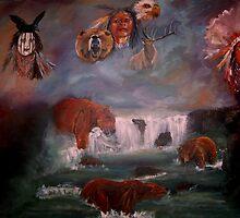 SPIRIT GUIDES  by LJonesGalleries