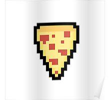 Pixel Pizza Poster