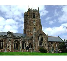 Dunster Church Photographic Print