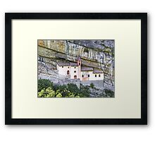 Church from the rock Framed Print