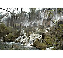 Jiuzhaigou National Park - China - Sichuan Photographic Print