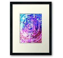 Glitter guts Framed Print