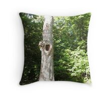 Lost Limb Healed Throw Pillow