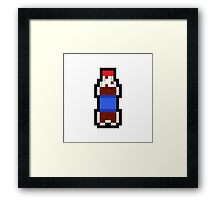 Pixel Pop Framed Print