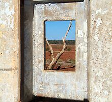 Pedirka Window by Bryan Cossart