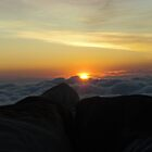 Sunrise from Baldy by skeletalbird