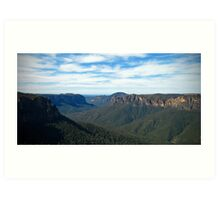 Jamison Valley 2 - Blue Mountains Art Print