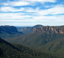 Jamison Valley 2 - Blue Mountains by annadavies