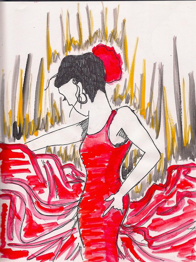 Flamenco by Amanda Abella