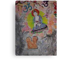 Toaster Buddha Canvas Print